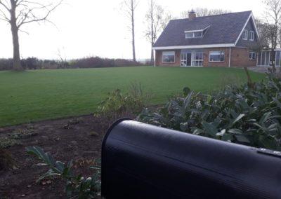 Sloop van twee boerderijen in Lelystad voor A. vd Louw. Knarweg 28 (2019)